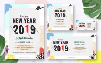 New Year Pack with New Year Flyer