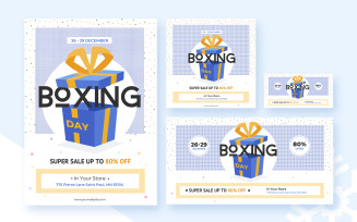 Boxing Day Pack with Flyer