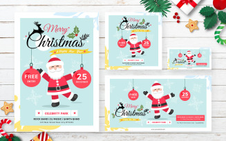 Christmas Pack with Flyer