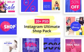 Instagram Shop Pack