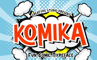 Komika Fun Comic Typeface Font