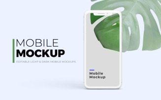 Mobile Product Mockup