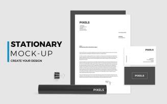 Stationery Product Mockup