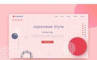 Abstract Japanese Style 2