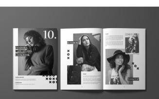 Pandora Magazine Template