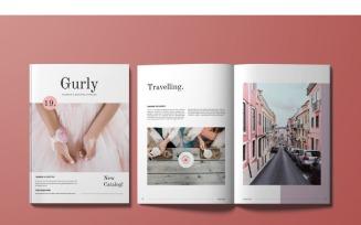 Gurly Magazine Template