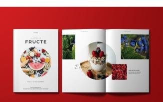 Fructe Magazine Template