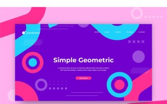 Ab 28 Simple Geometric Background