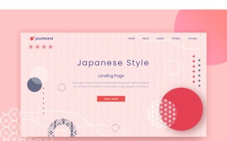 Abstract Japanese Style 2 Background
