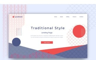 Abstract Japanese Style Background