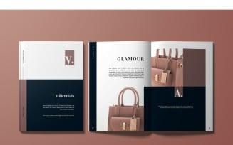 Glamour Magazine Template
