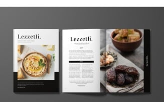 Lezzetli Magazine Template