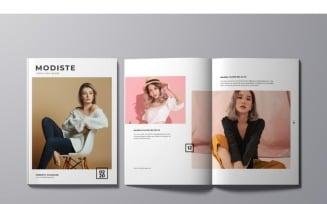 MG19 Modiste Magazine Template