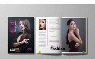 Modiste Fashion Magazine Template
