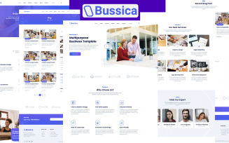Bussica - Bootstrap 5 Multipurpose Business
