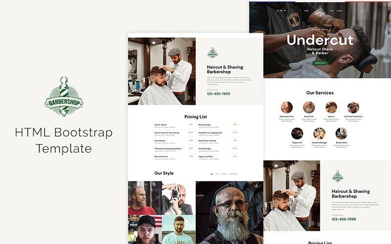 Undercut - Barber Shop Website Template
