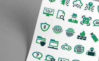 Security Development Icon Set