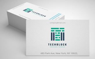 Technology Block Letter T