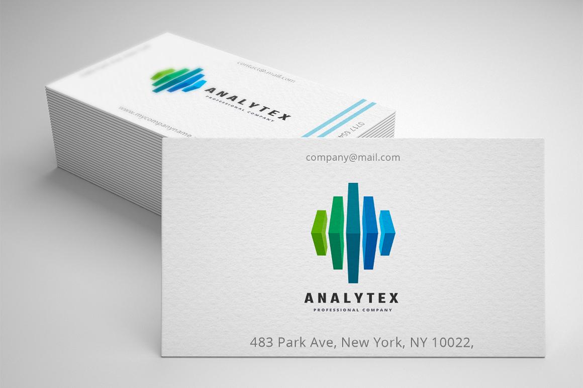 Analytic Financial Template de Logotipo №158775