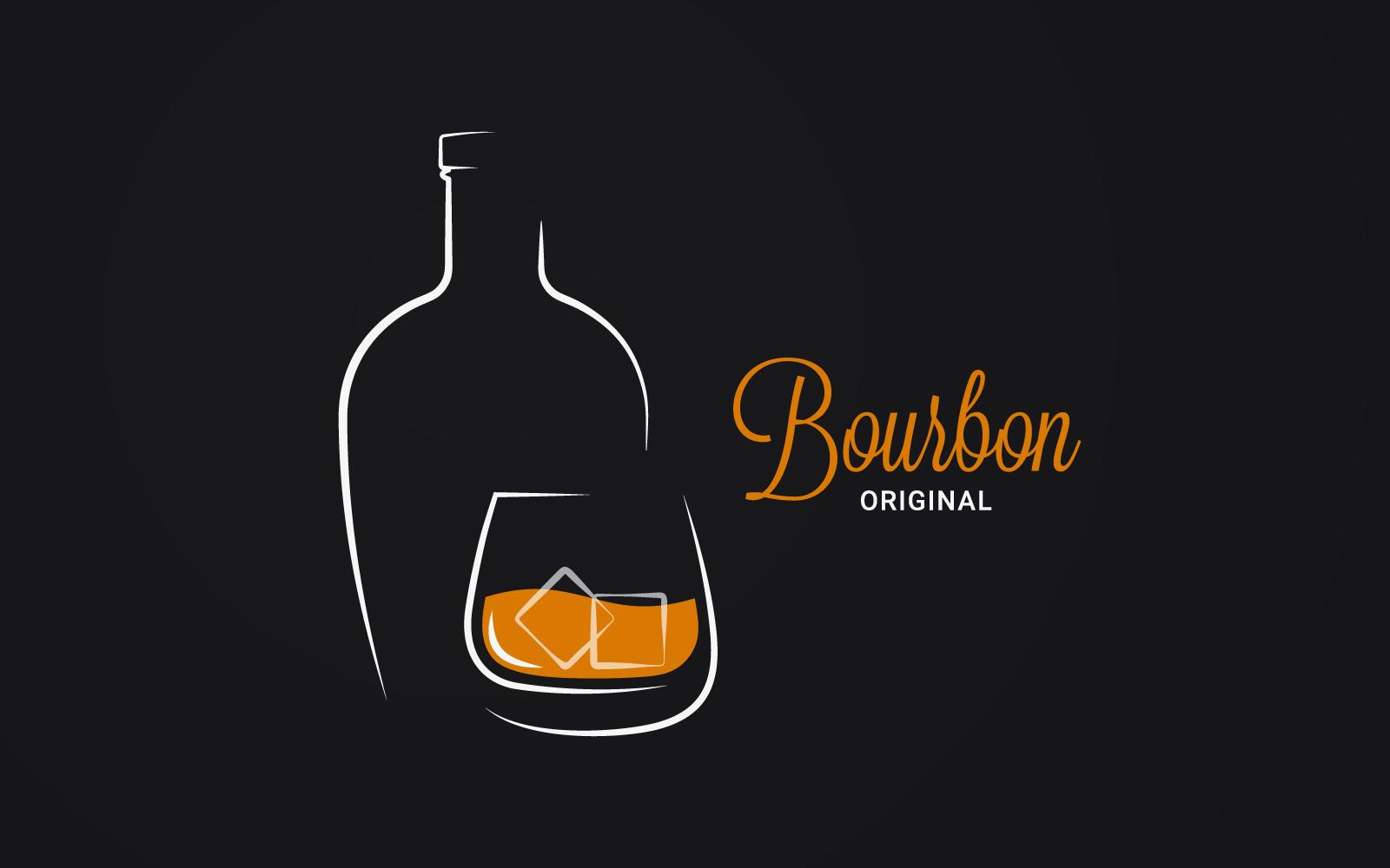 Bourbon or Whiskey. Logo #158702
