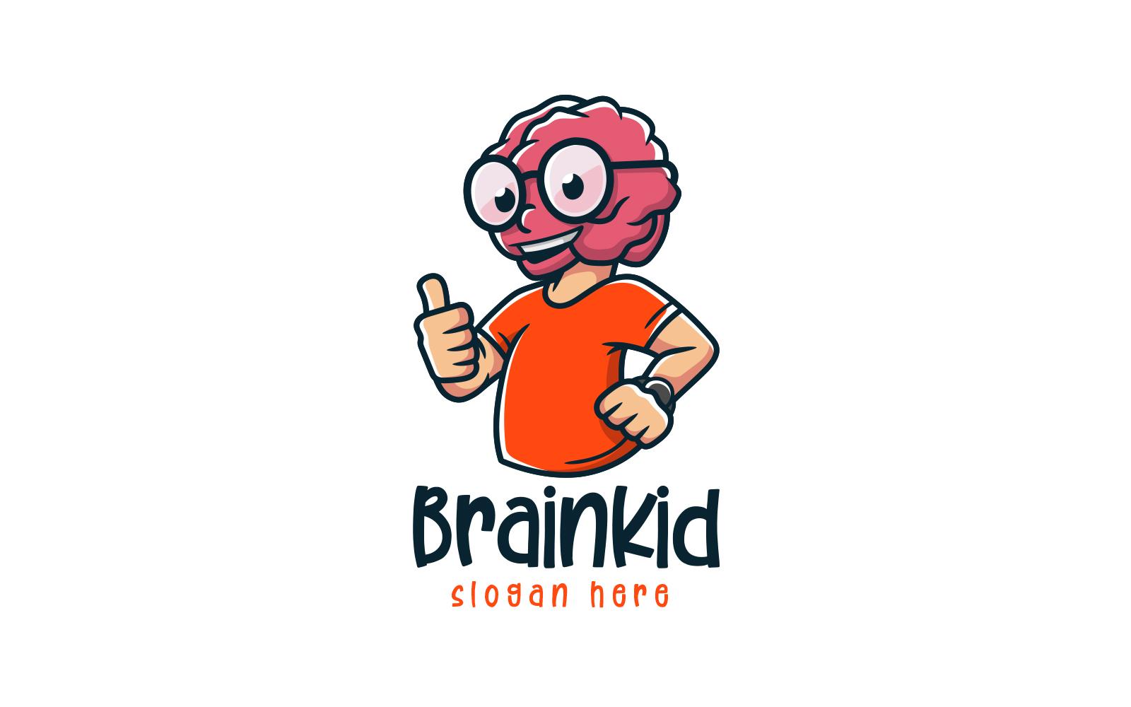 Brain Kid Template de Logotipo №158768