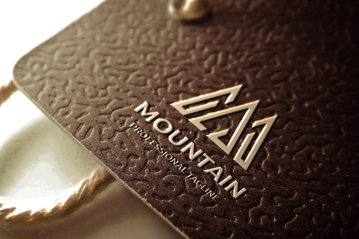 Mountain Letter Template de Logotipo №158779