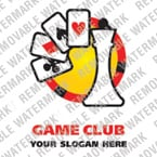 Casino Logo  Template 15909