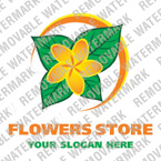 Flowers Logo  Template 15910