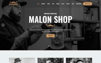 Barber - Salon Website HTML Template