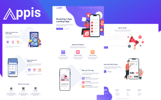 Appis - Bootstrap 5 App