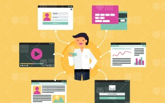 Online Business Infographics