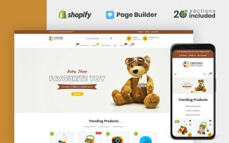 Creative Toy Store Shopify Theme