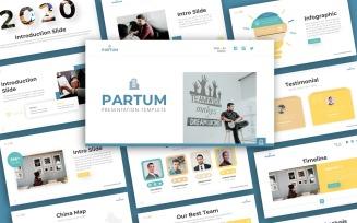 Partum Business Presentation