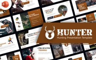 Hunter Hunting Presentation