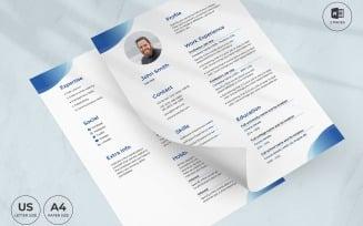 Scuba Diving Instructor CV