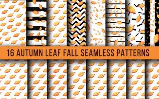 Autumn Leaf Fall Seamless