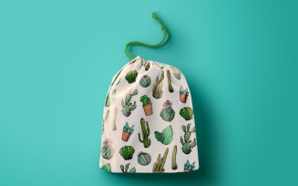 Mexican Cactus Pattern
