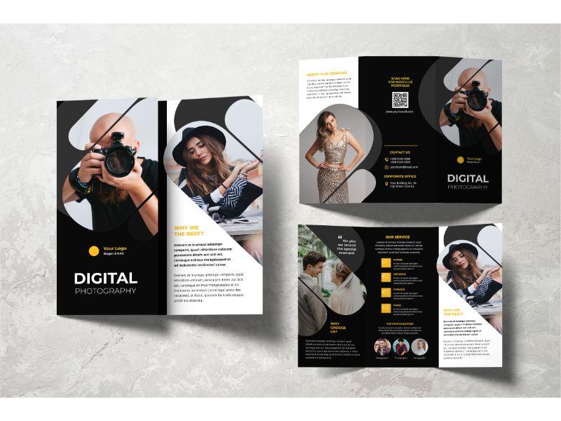"""Šablona firemního stylu """"Trifold Digital Photography"""" #159108"""