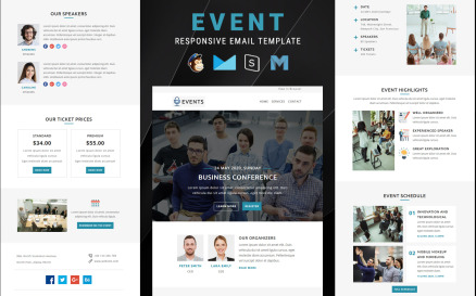 Events – Multipurpose Responsive Email Newsletter Template
