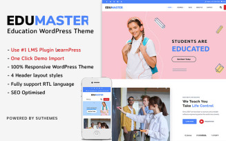 Education WordPress Theme | EduMaster WordPress Theme