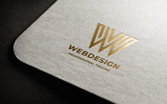 Web Design Letter Logo Template