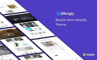 Bikingly - Bicycle Store Shopify Theme