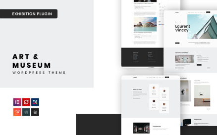 Artey - Art & Museum WordPress Theme