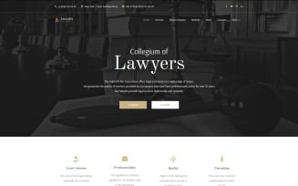 Attornify - Private Law Firm and Attorney WordPress Theme