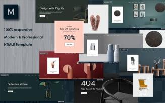 Marriott - Furniture Store HTML Website Template
