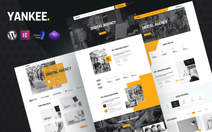Yankee - Digital Agency Elementor WordPress Theme