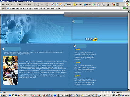 HTML CONTENT PAGE SCREENSHOT