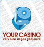 Casino Logo  Template 1621