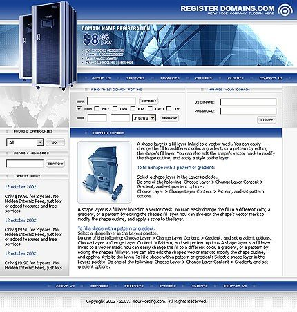 PHOTOSHOP CONTENT PAGE SCREENSHOT