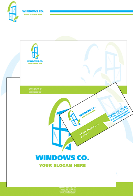 Corporate Identity 16005 Screenshot
